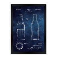 Oliver Gal™ 1937 Coca Cola Bottle 26-Inch x 32-Inch Framed Wall Art in Black