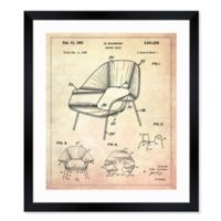 Oliver Gal™ 1948 Shaped Chair 26-Inch x 32-Inch Framed Print Wall Art