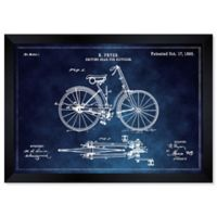 Oliver Gal Fryer Driving Gear for Bicycle 34-Inch x 28-Inch Framed Wall Art