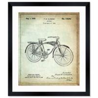 Oliver Gal™ Schwinn Bicycle 1939 Blueprint 17-Inch x 20-Inch Framed Wall Art