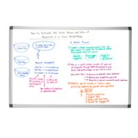Mind Reader Magnetic Dry-Erase White Board