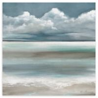 Tranquility by the Sea I 30-Inch Square Wrapped Canvas Wall Art