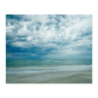 Masterpiece Art Gallery Morning At Beach 22-Inch x 28-Inch Canvas Wall Art