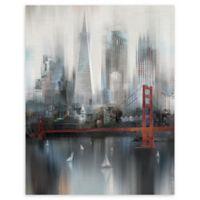 Masterpiece Art Gallery Cityscape San Francisco 22-Inch x 28-Inch Canvas Wall Art