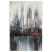 Masterpiece Art Gallery Cityscape San Francisco 24-Inch x 36-Inch Canvas Wall Art