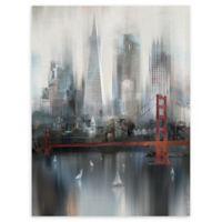 Masterpiece Art Gallery Cityscape San Francisco 30-Inch x 40-Inch Canvas Wall Art