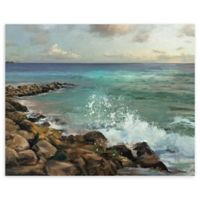 Masterpiece Art Gallery Rocky Shore 22-Inch x 28-Inch Canvas Wall Art