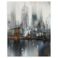 Masterpiece Art Gallery Cityscape NYC 22-Inch x 28-Inch Canvas Wall Art