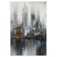 Masterpiece Art Gallery Cityscape NYC 24-Inch x 36-Inch Canvas Wall Art