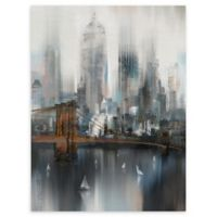 Masterpiece Art Gallery Cityscape NYC 30-Inch x 40-Inch Canvas Wall Art
