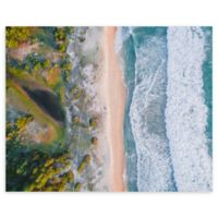 Aerial View 22-Inch x 28-Inch Wrapped Canvas Wall Art