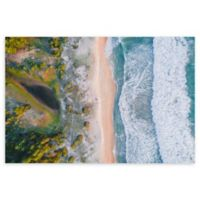 Aerial View 24-Inch x 36-Inch Wrapped Canvas Wall Art