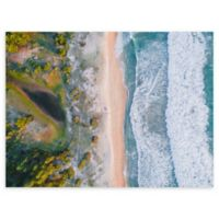 Aerial View 30-Inch x 40-Inch Wrapped Canvas Wall Art