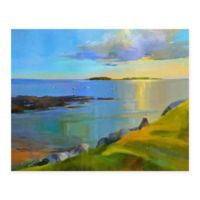 Masterpiece Art Gallery Kettle Cove Boats 22-Inch x 28-Inch Canvas Wall Art
