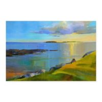 Masterpiece Art Gallery Kettle Cove Boats 24-Inch x 36-Inch Canvas Wall Art