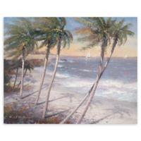White Sand Beaches 22-Inch x 28-Inch Canvas Wall Art