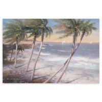 White Sand Beaches 24-Inch x 36-Inch Canvas Wall Art