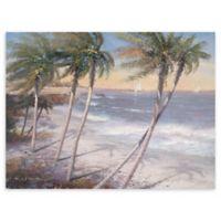 White Sand Beaches 30-Inch x 40-Inch Canvas Wall Art