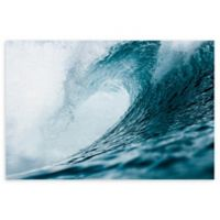 """Perfect Wave 24"""" x 36"""" Canvas Wall Art"""