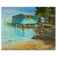 Waterfront 22-Inch x 28-Inch Wrapped Canvas Wall Art