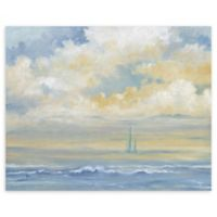 """Misty Morning Sail 22"""" x 28"""" Wrapped Canvas Wall"""