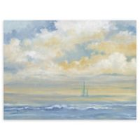 """Misty Morning Sail 30"""" x 40"""" Wrapped Canvas Wall"""