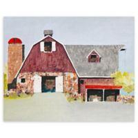 "Barn No. 2 16"" x 20"" Wrapped Canvas Wall Art"