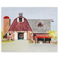 "Barn No. 2 22"" x 28"" Wrapped Canvas Wall Art"