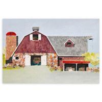 "Barn No. 2 24"" x 36"" Wrapped Canvas Wall Art"