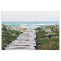 Masterpiece Art Gallery Beach Path 22-Inch x 28-Inch Canvas Wall Art