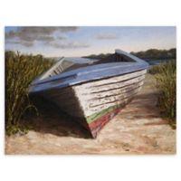 Montauk Skiff 30-Inch x 40-Inch Canvas Wall Art