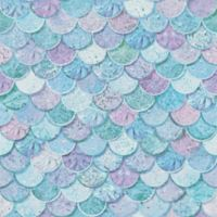 Arthouse Mermazing Scales Wallpaper in Ice Blue