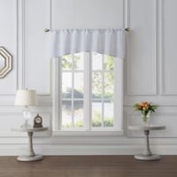 Tiburon Sheer Window Valance in White