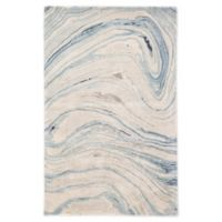 Jaipur Living Benna Abstract 5' x 8' Handcrafted Area Rug in Blue/Grey