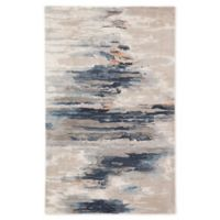 Jaipur Living Benna Abstract 8' x 11' Handcrafted Area Rug in Blue/Pink