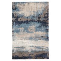 Jaipur Living Benna Abstract 8' x 11' Handcrafted Area Rug in Blue