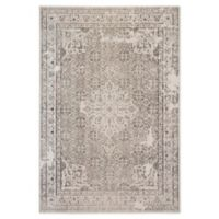 Jaipur Living Medallion 5' x 7'6 Indoor/Outdoor Area Rug in Stone