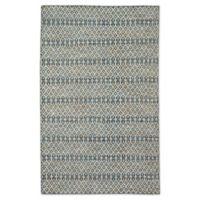 Jaipur Living Lattice 8'10 x 12' Handcrafted Area Rug in Blue