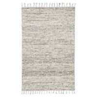 Jaipur Living Perkins Dot 2' x 3' Handcrafted Accent Rug in Ivory/Black
