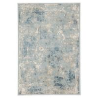 Jaipur Dreslyn Floral 10' x 14' Power-Loomed Area Rug in Blue