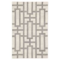 Jaipur Searcy Geometric 2' x 3' Hand-Tufted Accent Rug in Cream/Grey