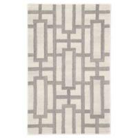 Jaipur Searcy Geometric 8' x 11' Hand-Tufted Area Rug in Cream/Grey