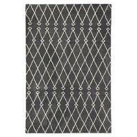 Jaipur Desenio Trellis 7'6 x 9'6 Hand-Tufted Area Rug in Grey