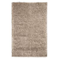 Jaipur Nadia Shag 5' x 8' Hand-Loomed Area Rug in Taupe