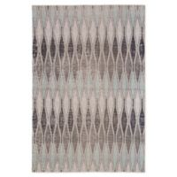 Jaipur Polaris Geometric Indoor/Outdoor 8'10 x 12' Area Rug in Grey