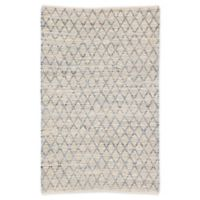 Jaipur Trellis 7'9 x 9'9 Area Rug in Denim