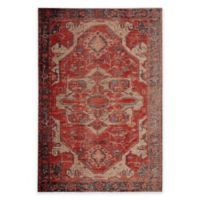 Jaipur Medallion Indoor/Outdoor 8'10 x 12' Area Rug in Red