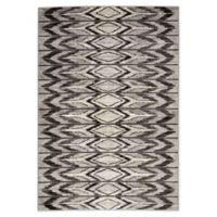 Jaipur Living Geometric 5'3 x 7'6 Area Rug in Grey