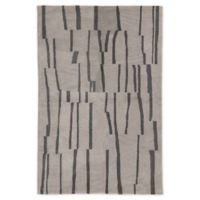 Jaipur Living Sola Stripe 5' x 7'6 Handcrafted Area Rug in Light Grey