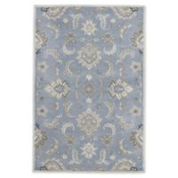Jaipur Mythos Abers 2' x 3' Accent Rug in Blue